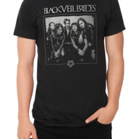 Black Veil Brides B&W Photo T-Shirt