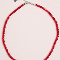 RED BEAD CHOKER