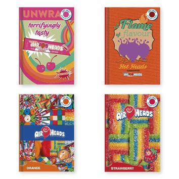 Airheads Licensed Scratch n' Sniff Hardback Journal - CASE OF 24