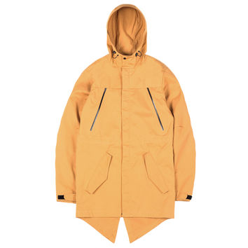 Ventile Cotton Fishtail Parka Mustard