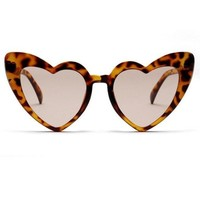 Leo Heart Sunglasses