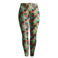 Tile Christmas Leggings