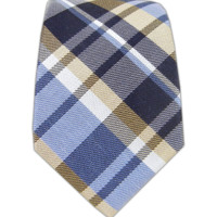 Linen Avenue Plaid  - Navy