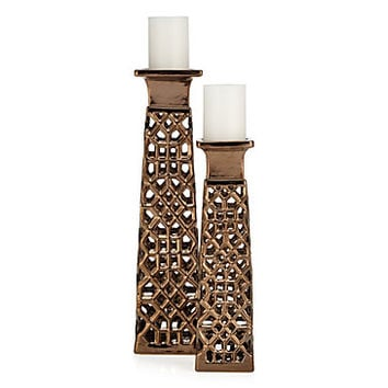 Morena Pillar Holder | Modern Living1 | Living Room | Inspiration | Z Gallerie