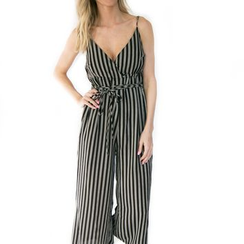 The Weston Stripe Jumpsuit