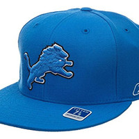 Reebok Detroit Lions Fitted Hat Style: Hat1916-blue Size: 7 7/8