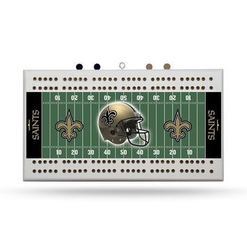 New Orleans Saints NFL Cribbage Board