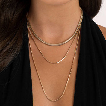 Simple Elegance Layered Necklace