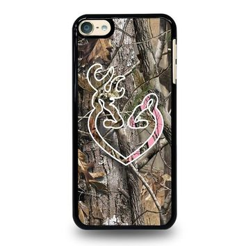 CAMO BROWNING LOVE iPod Touch 4 5 6 Case Cover