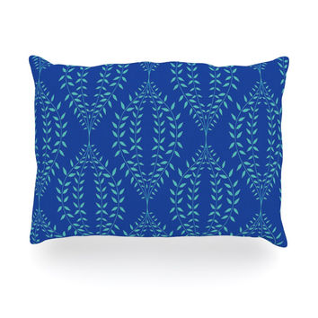 Best Navy Floral Pillows Products On Wanelo