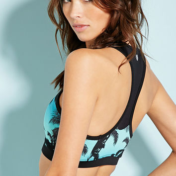 High Impact - Tropical Print Sports Bra