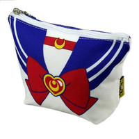 Cosplay Anime Sailor Moon Cosmetic /Case/Storage /Pencil/ Pouch Bag Minako Aino