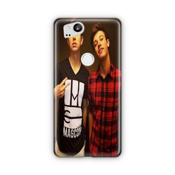Nash Grier And Cameron Dallas Google Pixel 3 XL Case | Casefantasy