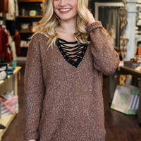 Finest Hour Sweater - Mocha