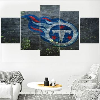 Newest Football Team Tennessee Titans Paintings Wall Art Home Decor Picture Canvas Painting Calligraphy For Living Room Bedroom