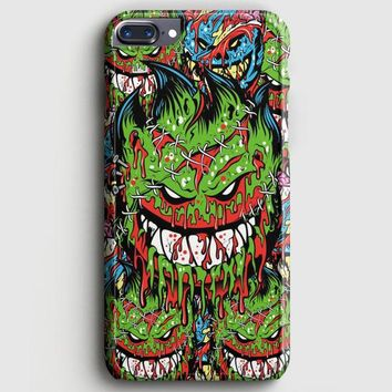Spitfire Monster Skateboard Wheels iPhone 8 Plus Case | casescraft
