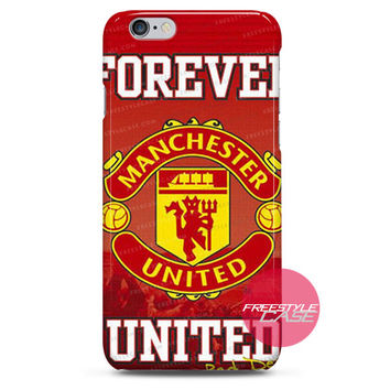 Manchester United Forever iPhone Case 3, 4, 5, 6 Cover