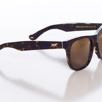 Bridges Especiale Sunglasses in Dark Brown Havana with Dark Savannah Polarized Lens by Red's Outfitters