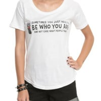 Studio Ghibli Her Universe Kiki's Delivery Service Be Who You Are Girls T-Shirt