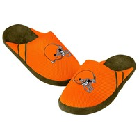 Browns Jersey Mesh SLIDE SLIPPERS New -   - Cleveland Browns