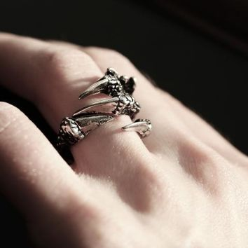Shop Dixi Gothic Ring | Gothic Claw Ring