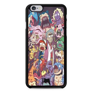 Rick And Morty Pokemon iPhone 6/6s Case