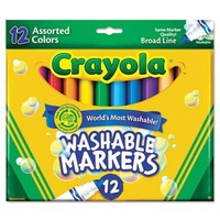 Crayola 12 Ct Washable Markers(Discontinued by manufacturer)