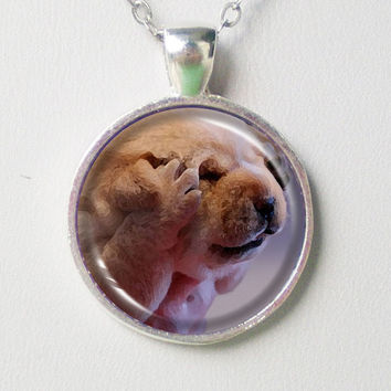 Doggie Necklace- Oh No!- Animal Series
