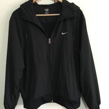 Nike Hooded Sweatshirt Cardigan Jacket Coat Windbreaker