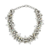 Pearl Cluster Collar - Accessories - New In