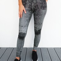 Your Only Limit Is You Pants: Grey/Black