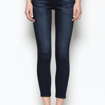 Amelia Skinny Dark Wash Hidden Jeans