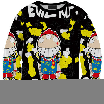 Cartoons Autumn 3D Stylish Fashion Print Hoodies