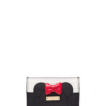 kate spade new york for minnie mouse card case