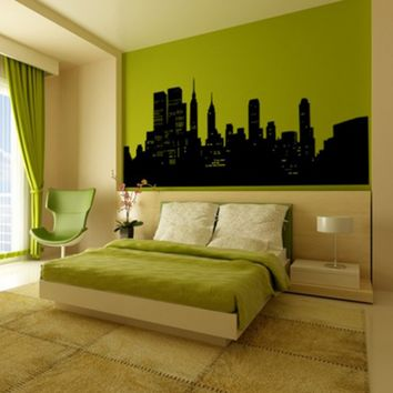 NYC Skyline Wall Decal