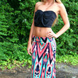 Stained Glass Maxi Skirt