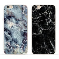 "5S Phone Cases For iPhone 5 Case soft Granite Marble Stone image Painted Back Cover For iphone5 5S SE 6 6S 4.7"" Plus 5.5"" Capa"