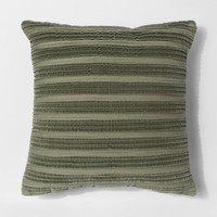 Pleated Textured Throw Pillow - Threshold™