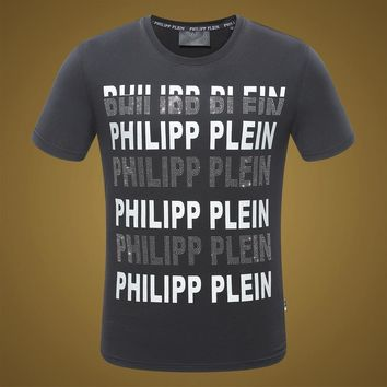 2018 Men  Cheap  Philipp Plein  T Shirt hot sale ♂020