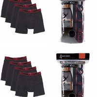 Champion Elite Men's Boxer Briefs 8-PACK S(28-30) M(32-34) L(36-38) XL(40-42)