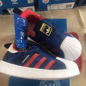 DCCKXI2 ADIDAS Girls Boys Children Baby Toddler Kids Child Durable Print Sneakers Sport Shoes