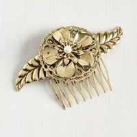 Vintage Inspired Graced with Garlands Hair Comb by ModCloth
