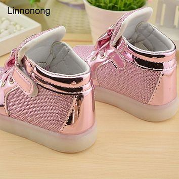 Autumn  Children  Sneakers  Shoes  Girls  Toddler  Casua