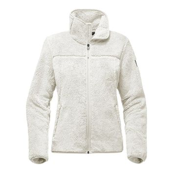 Women's Campshire Full Zip Sherpa Fleece in Vintage White by The North Face