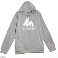 Burton Oak Pullover Hoodie for Men in Monument Heather 162231-HTRGRY