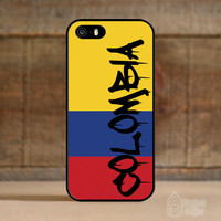 Colombia Graffiti Case for Apple iPhone 5/5s