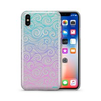 Gradient Wave - Clear TPU Case Cover