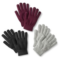 Women's Multipack Touch Screen Compatible Knit Gloves - Assorted