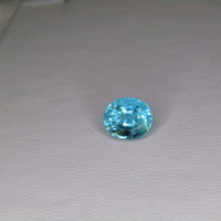 Loose 2.33ct Blue-Green paraiba tourmaline GIA cert  8.34 x 7.10 Appraised $3536