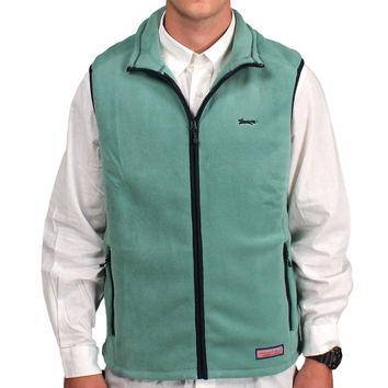 Limited Edition Harbor Vest in Starboard Green by Vineyard Vines